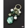 Key ring arg. 925 Holy Spirit Jewellery, agate, onyx, quartz