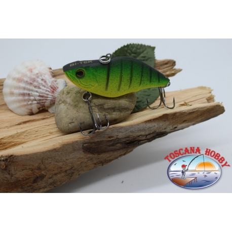 Artificial Lures Liplesses with metal balls, 6.5 cm-15gr. col. tiger FC.V130