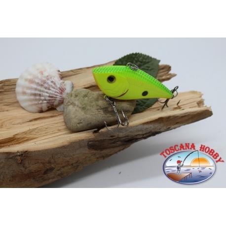 Señuelos artificiales Liplesses con bolas de metal, de 6,5 cm-15gr. col. jamaica. FC.V134