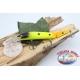 Künstliche Lures Viper warteschlange gelenken 12cm-14gr Floating col. orange/yellow FC.V271