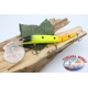 Señuelos artificiales de la Víbora de la cola articulado de 12cm-14gr Flotante col. naranja/amarillo FC.V271