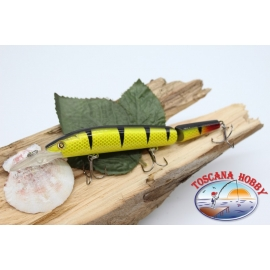 Artificiale Lures Viper coda snodata 12cm-14gr Floating col. striato FC.V272