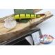 Artificiale Lures Viper coda snodata 12cm-14gr Floating col. striato FC.V272