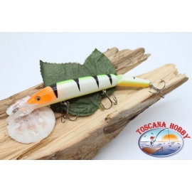 Artificial Lures Viper tail jointed 12cm-14gr Floating col. orange head FC.V273