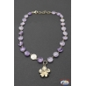 Necklace silver 925 Holy Spirit Jewelry with amethyst