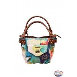 Bag Desigual fantasy with handles brown