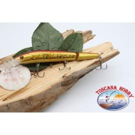 Señuelos artificiales de la Víbora de la cola articulado de 12cm-14gr Flotante col. pez rojo FC.V281