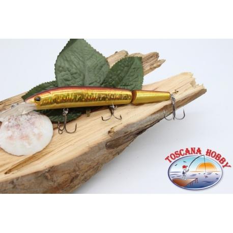 Artificiale Lures Viper coda snodata 12cm-14gr Floating col. pesce rossio FC.V281