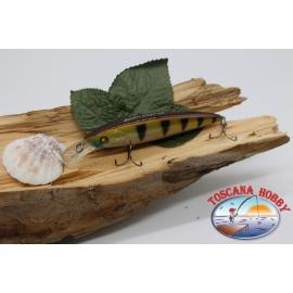 Artificiale Lures Classico 10cm-17gr. floating, col. ocra tigrato. FC.V142