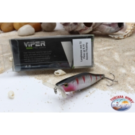 Artificial lures Viper, type Popper, 7.2 cm, 8,1 g, Floating