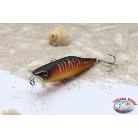 Wobbler Viper, 7,2 cm breit, 8,1 gr, Floating, seitliche
