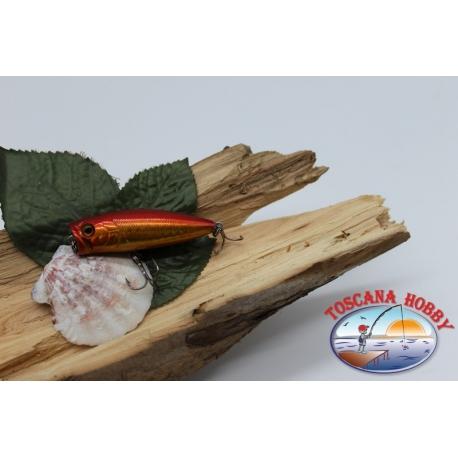 Artificielle Popper Viper 5.5 cm-7gr Flottant col. poisson rouge FC.V284