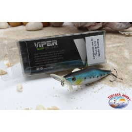 Artificial lures Viper, type Popper, 7.2 cm, 8,1 gr, Floating, AR.626