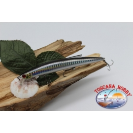 Artificial Minnow Jerk Viper 12,5 cm-13,5 gr Sea Floating with the. dark back FC.V289