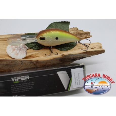 Artificial Big Crank Viper with metal balls 9cm-46gr.floating. FC.V152