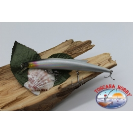 Artificial Minnow Jerk Viper 12,5 cm-13,5 gr Sea Floating with the.silver.FC.V293