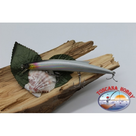 Artificial Minnow Jerk Viper 12,5 cm-13,5 gr Sea Floating with the. silver FC.V293