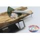 Künstliche Minnow Jerk Viper 12,5 cm-13,5 gr Meer Floating col. silber FC.V293