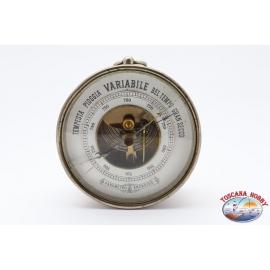 Barometro aneroide vintage, inizio XX secolo