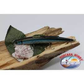 Artificial Minnow Jerk Viper 12,5 cm-13,5 gr Sea Floating with the. dark back FC.V295