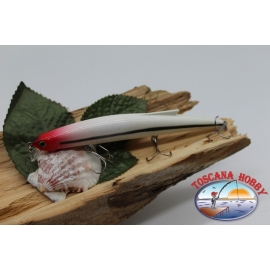 Artificial Minnow Jerk Viper 12,5 cm-13,5 gr Sea Floating with the. red head FC.V296