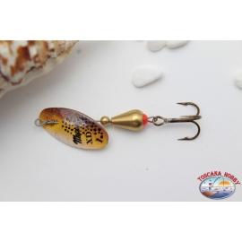 Cucchiaini Pesca, Mepps XD rotante, mis. 1, R.196