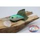 Artificial Crank, 8cm-28gr. floating, col.blue/green, spinning. FC.V161