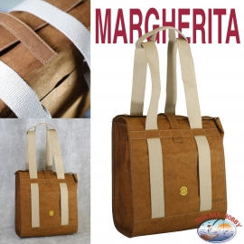Backpack Women's Eco-sustainable - Vegan-friendly - Mod. MARGHERITA - the Bottom of a 9-MAIN
