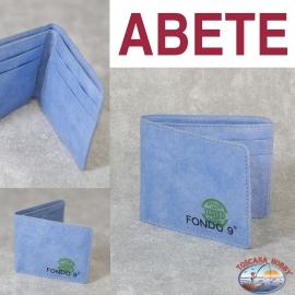 Men's wallet Eco-sustainable - Vegan-friendly - Mod. ABETE - Fondo 9 MAIN