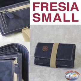 Women's wallet Eco-sustainable - Vegan-friendly - Mod. FREESIA SMALL - Fund 9 MAIN