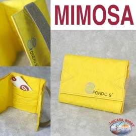 Women's wallet Eco-sustainable - Vegan-friendly - Mod. MIMOSA - the Bottom of a 9-MAIN