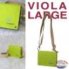 Women's bag Eco-sustainable - Vegan-friendly - Mod. PURPLE LARGE - Fund 9 MAIN