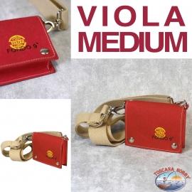 Borsa Donna Eco-sostenibile - Vegan-friendly - Mod. VIOLA MEDIUM - Fondo 9 PRINCIPALE
