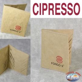 Porta carte Eco-sostenibile - Vegan-friendly - Mod. CIPRESSO - Fondo 9 PRINCIPALE