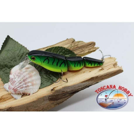 Artificial jointed 3 piece Viper 9,5 cm-18gr Floating col. frog bull FC.V306