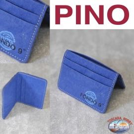 Porta carte Eco-sostenibile - Vegan-friendly - Mod. PINO - Fondo 9 PRINCIPALE