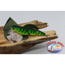 Minnow snodato 3 pezzi Viper 9,5cm-18gr Floating col. yellow/green FC.V311