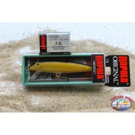 Artificial bait Rapala Original 7 G, 4GR, Col. Gold Black, floating