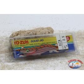 Totanare Yo-Zuri - Squid Jig Seta - Siz. 2.5 -  Col. AT/13