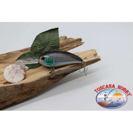 Artificiale Crank, 8cm-28gr. floating, col. sardina, spinning. FC.V178