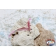 4.5 cm coastal trolling craft nail with feather-Pink