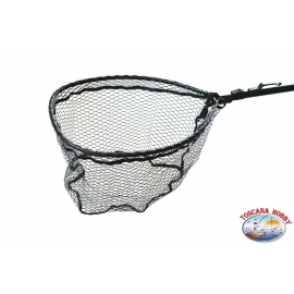 Garbolino mesh in folding rubber with hook and magnet ST.77