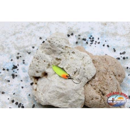 Rolling spoon Trout Area-Spoon 2,6 gr-2,9 cm-Yellow / Black / Orange
