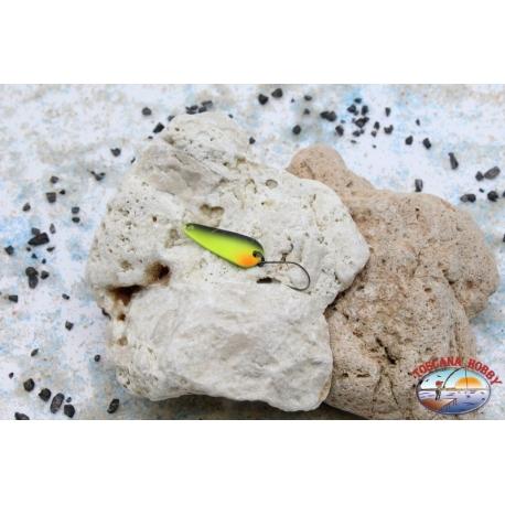 Rolling spoon Trout Area-Spoon 2,8 gr - 3 cm - Yellow / Black