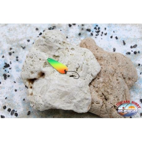 Rolling spoon Trout Area-Spoon 2,8 gr - 3 cm-orange / green / yellow
