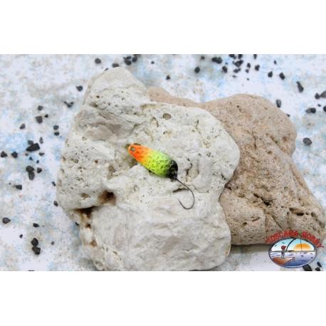 Trout area - Spoon 3,9 gr - 2,8 cm-yellow / orange / black