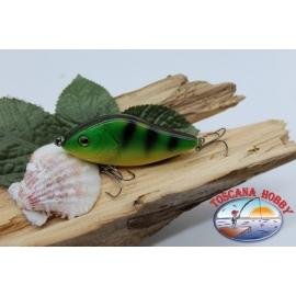 Artificial Liplesses Minnow Viper 7cm-18,5 gr Hundimiento col.verde de rayas FC.V326