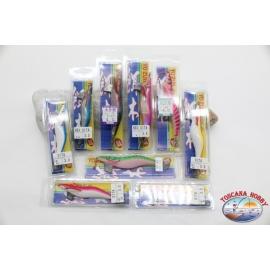 Totanare Yo-Zuri Tintenfisch Jig-Lot 9 Stück sortiert-Vorschau