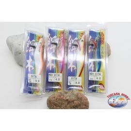 Totanare Yo-Zuri Tintenfisch Jig-Lot 4 stücke assorted-Totanare Yo-Zuri Tintenfisch jig LE/27