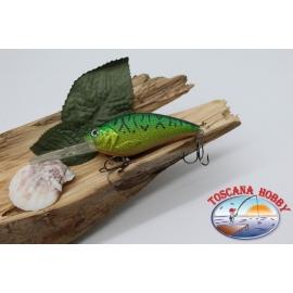 Artificial de la Manivela de Señuelos de spinning, 8cm-22gr. flotante, col. rana de árbol. FC.V188